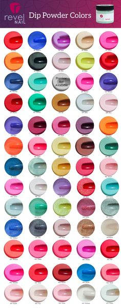 Kiara Sky Color Swatches   Gel Nail Swatches   Pinterest ...