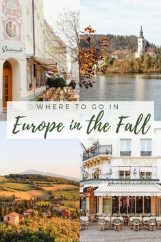 Where to go in Europe in the Fall - Petite Suitcase Wohin in Europa im Herbst? Voyage Europe, Europe Travel Guide, Travel Guides, Travel Hacks, Europe Europe, Backpacking Europe, Travel Packing, Traveling Tips, Packing Lists