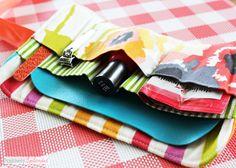 Travel Manicure Kit Sewing Pattern