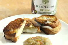 Our Heirloom Tomato Relish with a Sweet Vanilla Cardona Cheese from our friends at Carr Valley Cheese. The best way to enjoy our Pairing of the Week is by making the all time American classic: the Grilled Cheese Sandwich. We think it may be the best Grilled Cheese you have ever tasted so we have dared to call it the Perfect Grilled Cheese Sandwich. Please check it out more on our website!