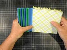 ▶ Simple Strip Binding (2) - How to attach pages - YouTube