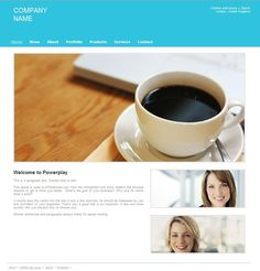 Marketing & Communication - Puzl free website business template