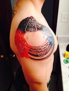 ATLA // TLOK element tattoos - Album on Imgur