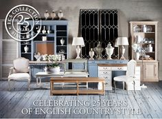 Celebrating 25 years of English country style