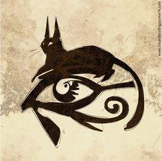 dibujo gato egipcio - Buscar con Google