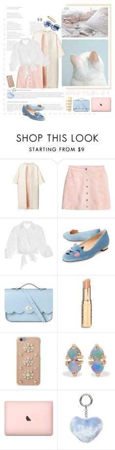 """sweet tooth"" by emyemoemu ❤ liked on Polyvore featuring Esme Vie, H&M, Johanna Ortiz, Charlotte Olympia, The Cambridge Satchel Company, MICHAEL Michael Kors, WWAKE, Dorothy Perkins, Pinko and Kate Spade"