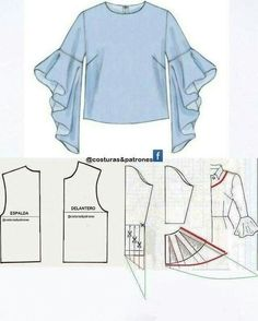 How to sew an umbrella dress Easy How to sew a reg . How to sew an umbrella dress Easy How to sew an umbrella dress Easy Sewing Dress, Sewing Sleeves, Dress Sewing Patterns, Sewing Patterns Free, Clothing Patterns, Blouse Sewing Pattern, Kaftan Pattern, Blouse Patterns, Sewing Blouses