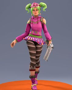 [SFM] Fortnite Battle Royale: Zoey (Candy Girl) by joeCalzon on DeviantArt The Sims, Sims 4, Halloween 2018, Halloween Costumes, Epic Games Fortnite, Battle Royale, Brown Eyed Girls, Sad Art, Gaming Wallpapers
