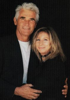 Such a cute couple. Charles Brolin and Barbara Streisand
