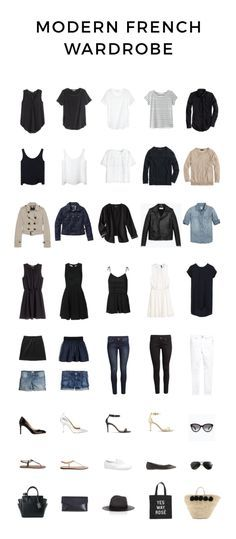Modern French Wardrobe for Spring and Summer | modernfrenchblog.com