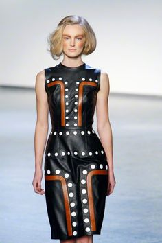 I love this how it is using traditional aboriginal prints and patterning, and how they have been transformed into modern fashionable clothing