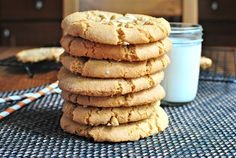 Classsic Chewy Peanut Butter Cookies
