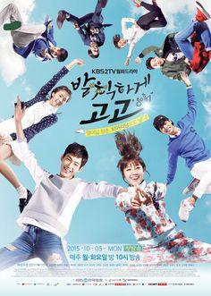 Cheer Up!, a.k.a. Sassy Go Go! (South Korea, 2015; KBS2). Starring Jung Eun-ji, Lee Won-geun, Chae Soo-bin, Cha Hak-yeon, Ji Soo, Kim Ji-suk, Park Hae-mi, Kim Yeo-jin, Choi Duk-moon, Kil Hae-yeon, and more. Airs Mondays & Tuesdays at 9:55 p.m. (2 eps/week) [Info via Asian Wiki] >>> Currently available on DramaFever, Hulu, and Viki.