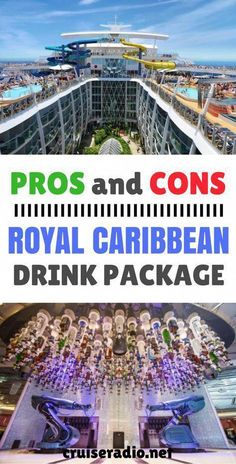 Royal Caribbean Drink Package Pros and Cons Wondering whether you should purchase a Royal Caribbean drink package for your upcoming cruise? We weigh the pros and cons. Royal Caribbean International, Croisière Royal Caribbean, Crucero Royal Caribbean, Caribbean Drinks, Caribbean Cruise Line, Caribbean Cruise Outfits, Caribbean Honeymoon, International Food, Cruise Travel