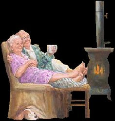 Make Your Own Greetings Photo Humour, Animiertes Gif, Gifs, Illustration Noel, Growing Old Together, Grands Parents, Old Folks, Old Couples, Animation