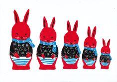 Matryoshka rabbits
