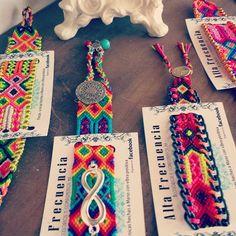 friendship bracelets, bracelets, handmade fabrics in Mexico, style, bohemian . Bead Loom Bracelets, Macrame Bracelets, Handmade Bracelets, Macrame Jewelry, Fabric Jewelry, Friendship Bracelet Patterns, Friendship Bracelets, Fabric Yarn, Bijoux Diy