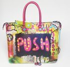 Handbag borsa GABS Week Studio Print M shopping trasformabile studio dav/dt PUSH