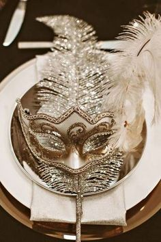 Get mysterious with an exquisite masquerade soirée.