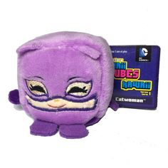 41c19f53daa Kawaii Cubes DC Comics Catwoman Plush Joker And Harley Quinn