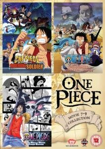 One Piece Movie Collection 3 UK Anime DVD Review
