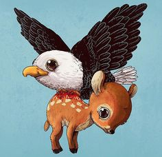 cute-gruesome-animal-drawings-predator-prey-alex-solis-alexmdc-8