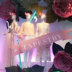 WEBSTA @ visualandcreative - Life's Rich Tapestry @debenhams #oxfordstreet #spring #lfw #pink