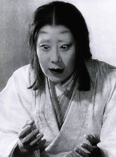 "Isuzu Yamada as Asaji/Lady Macbeth in 'Throne of Blood', 1957, directed by Akira Kurosawa. ""Out, damn'd spot! out, I say! What need we fear who knows it when none can call our power to account? - Yet who would have thought the old man to have had so much blood in him?"" S)"