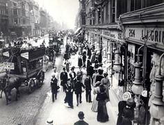 Oxford Street, early 1900s.