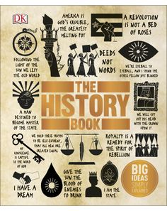 The latest in the Big Ideas series, The History Book takes you back through time from the dawn of civilization to the present day. Discover the human timeline from our origins to the French Revolution, from the release of Nelson Mandela to the Space Race. Released 1st July 2016
