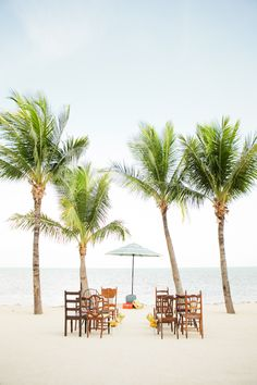 Cheeca Lodge ceremony | Vintage Florida Copacabana wedding inspiration