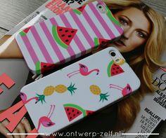 Watermeloen Hosjes & Flamingo www.ontwerp-zelf.nl