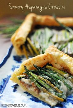 Asparagus Crostini Recipe