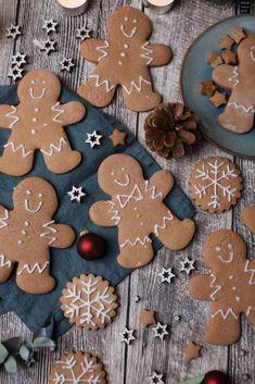Rita - Welcome Christmas Baking, Christmas Cookies, Christmas Recipes, German Desserts, Gingerbread Man Cookies, Cookie Frosting, Biscuit Cookies, Brownie Cookies, Sweet Treats