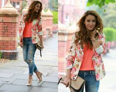 Floral Blazers for this summer