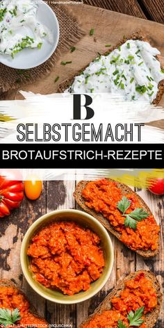 Brotaufstrich Rezepte Spread recipes On the sandwiches, ready, go - we present the most unique sprea Shrimp Recipes, Baby Food Recipes, Bread Recipes, Sandwich Recipes, Avocado Dessert, Sandwiches, Queso Fresco, Cooking On The Grill, Evening Meals