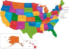 Images Of Maps Of USA Map Of Usa Free Large Images A - Us map of state capitals