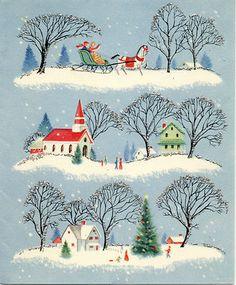 charming vintage Christmas...