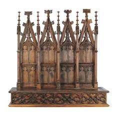 Gothic Revival altarpiece