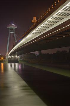 Most SNP, Bratislava by Petr Skoupý on 500px
