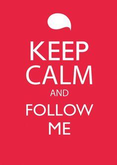 Please follow me :)