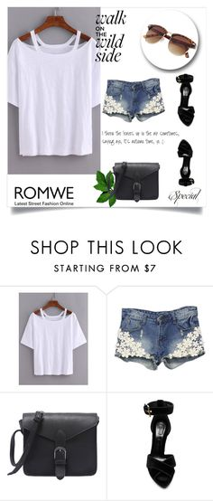 """Romwe contest"" by albinnaflower ❤ liked on Polyvore featuring WithChic and Alexander McQueen"