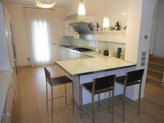 A casa di Adriana Lorenzo, Le cucine ambientate, Veneta Cucine