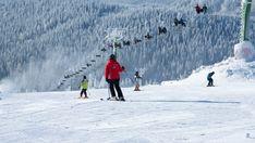 Skifahren Erzgebirge Boží Dar