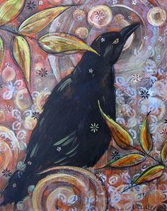 A Crows Thoughts  Sandra McCall