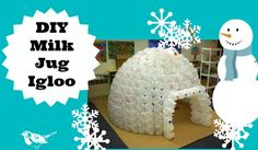 DIY-milk-jug-igloo-  i don't drink milk, but if you have a big family, this could be a fun project!