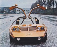 Mercedes-Benz C111 foi um modelo experimental produzido nos anos 60 e 70