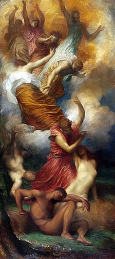 The Creation Of Eve George Frederic Watts, 1873