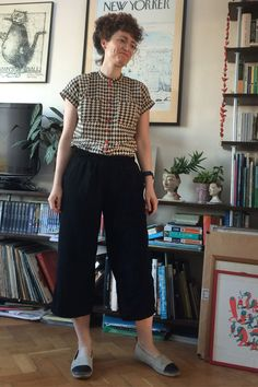Deer and Doe Mélilot shirt and Hudson Pant hack - Snitches Get Stitches