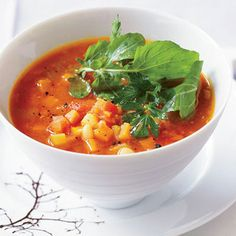 This satisfying soup from chef David Bull is an excellent source of fiber.